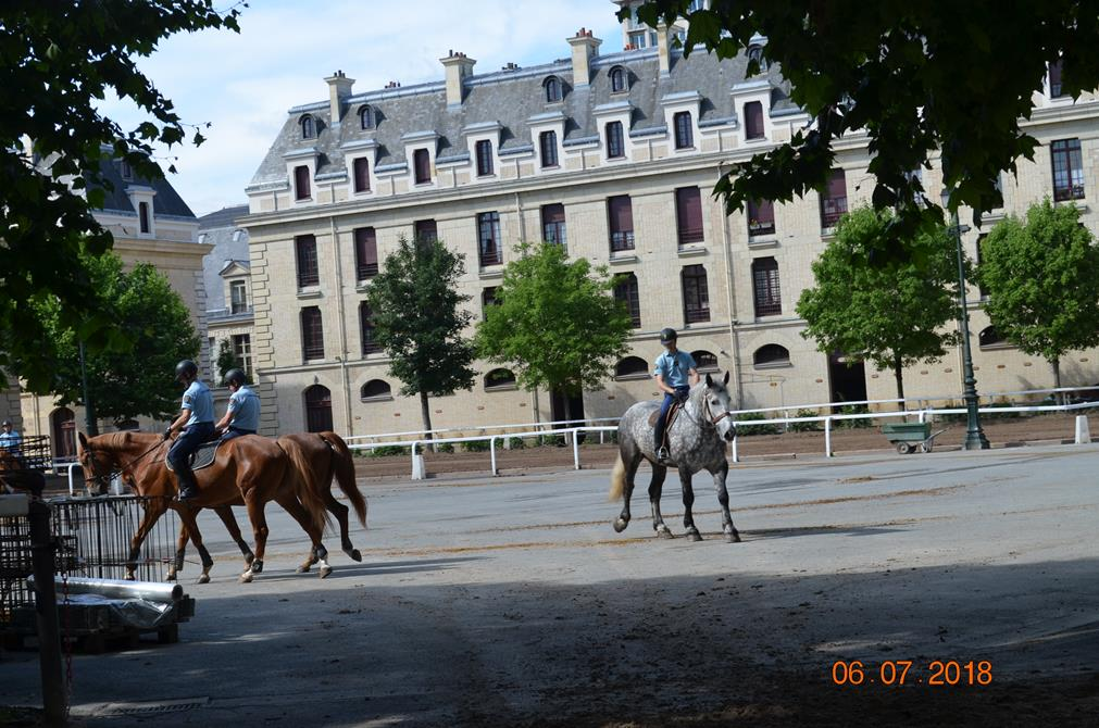 Manège, Ballade des chevaux