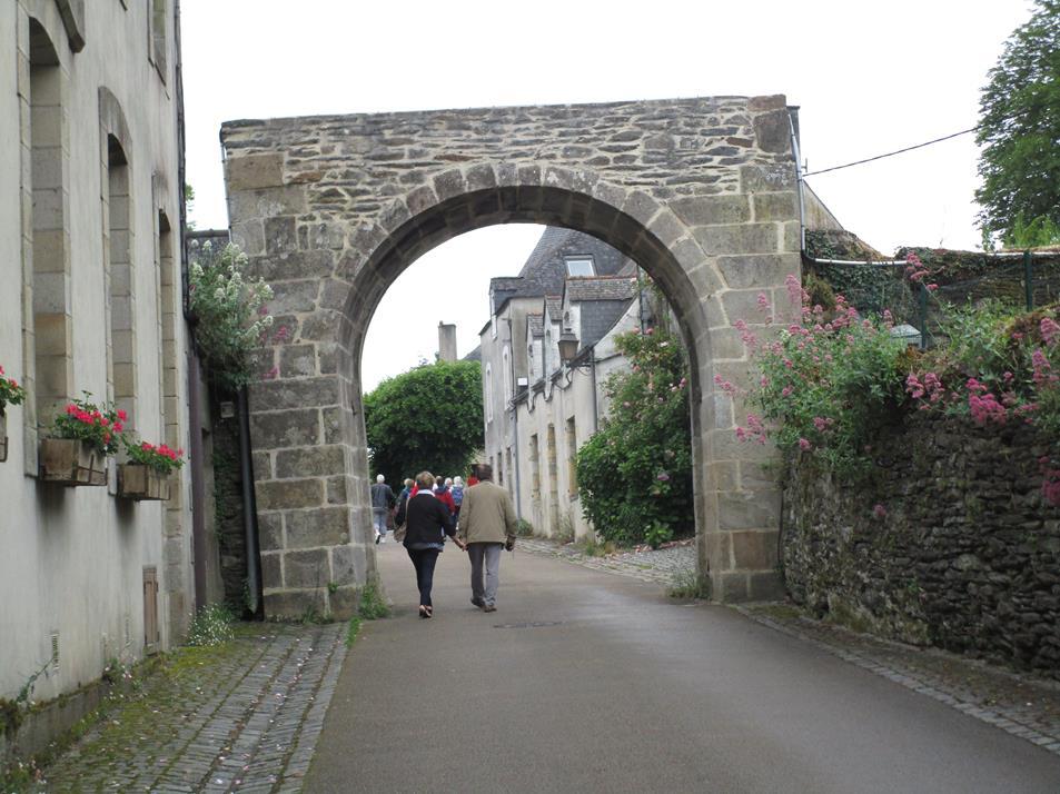 Porte d'accès à la Commune