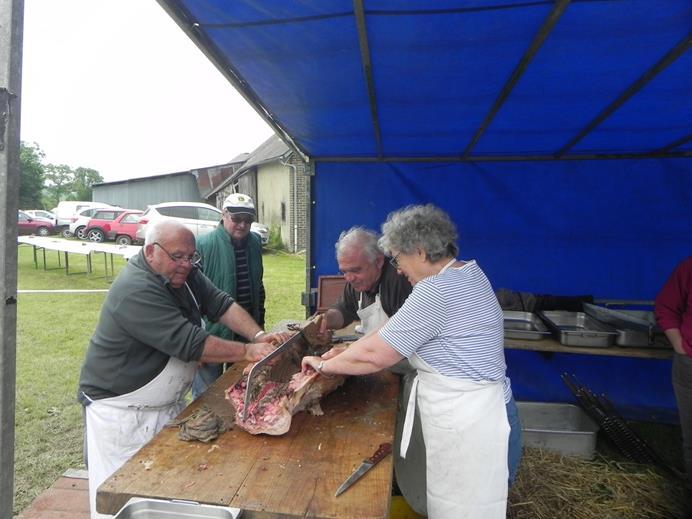 Le cochon grillé 1