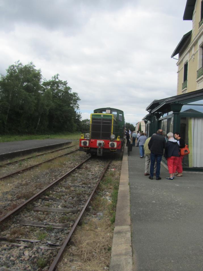 Le train est en gare
