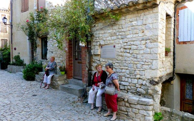 Le village de Seguret