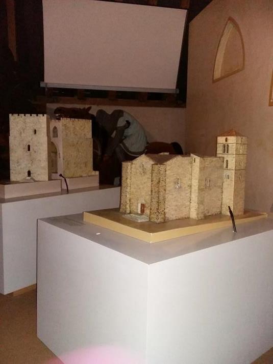 Musée d'Arville, les maquettes de monuments