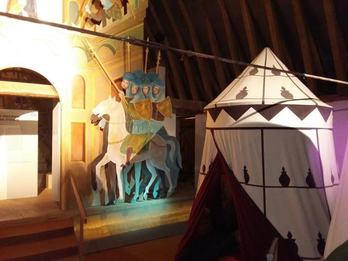 Musée d'Arville, les templiers