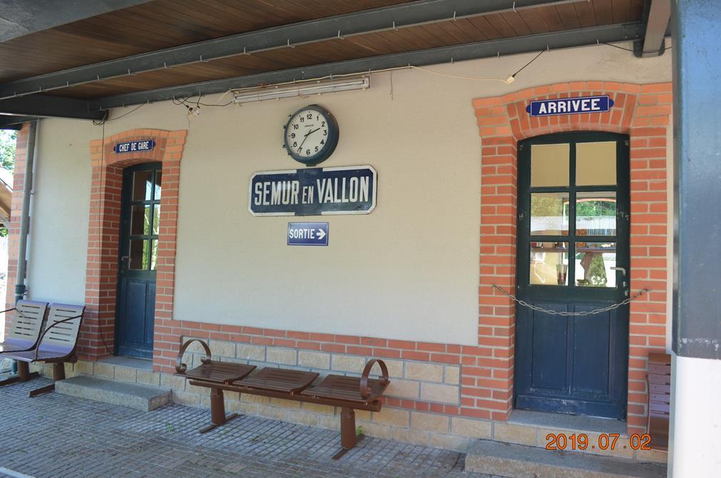 La gare de Semur